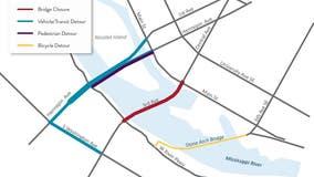 Third Avenue Bridge in Minneapolis to close for 2 years