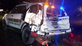 Drunk driver crashes into squad car in North Branch, Minnesota