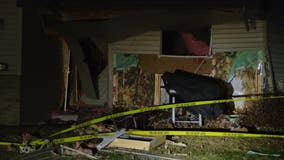 Man hospitalized after home explosion in Oak Grove, Minnesota