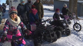 St. Peter family gets Christmas Eve surprise on four wheels