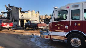 Fire at Maple Grove, Minnesota warehouse confirmed fatal