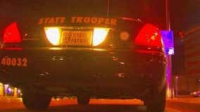 Trooper injured while pushing out stuck vehicle during winter storm