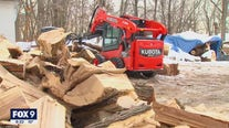 Minnesota man supplies firewood to restaurants, homeless encampments