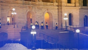 Increased security at Minnesota State Capitol continues following U.S. capitol riots