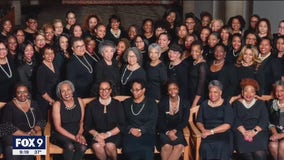 Fellow members of Alpha Kappa Alpha celebrate Kamala Harris' inauguration