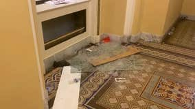 Video footage shows aftermath of Capitol chaos, damage to Senate wing