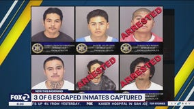 3 of 6 escaped California inmates now captured: sheriff