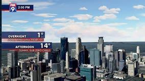 Blast of arctic air bringing subzero wind chill to Twin Cities metro