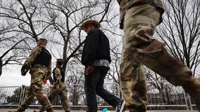 About 1,100 National Guard troops deployed to U.S. Capitol