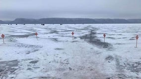 Warm January creates weak ice conditions in Minnesota