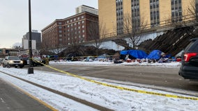 1 killed, 1 injured in fire at St. Paul homeless encampment