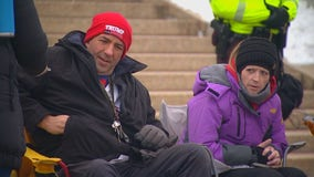 Small demonstration caps off quiet weekend at Minnesota Capitol