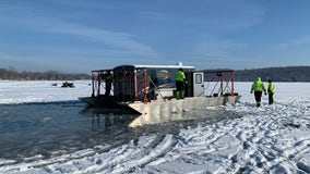 ATV, fish house break through ice on Stearns County lakes