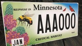 DNR unveils new critical habitat license plate featuring pollinators
