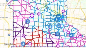 No travel advised on some southwestern Minnesota highways due to whiteout conditions