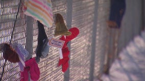 'Scarf bombing' event collects cold weather gear for Minnesotans in need during winter