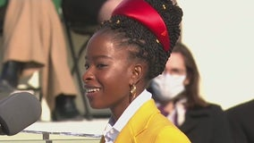 LA native Amanda Gorman makes history as youngest inaugural poet