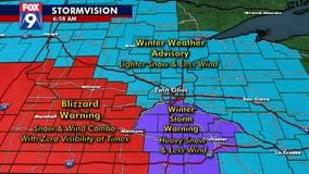 Strong winds, slushy snow make January appearance in Minnesota