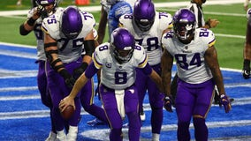Vikings beat Lions 37-35 to finish disappointing 2020 season 7-9