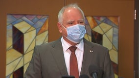 Walz quarantines after staffer tests positive for COVID-19