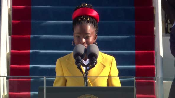 Amanda Gorman reads poem at President Biden's inauguration
