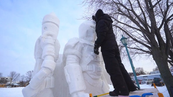 Cold weather perfect for ice and snow-themed events in the Twin Cities this weekend
