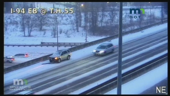 State Patrol: 208 crashes, 183 spinouts on Minnesota roads during Saturday snow