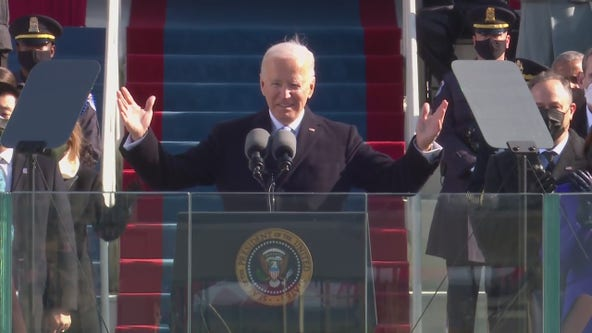 Watch President Joe Biden's inauguration speech
