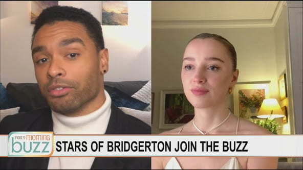"""The stars of """"Bridgerton"""" chat with the Buzz about their steamy hit series"""