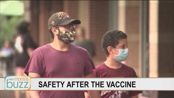 Why doctors say it's still important to wear a mask after you get vaccinated
