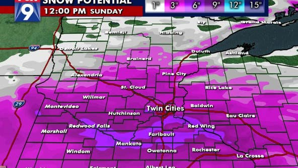 Saturday snow could bring 3 to 6 inches to Twin Cities metro