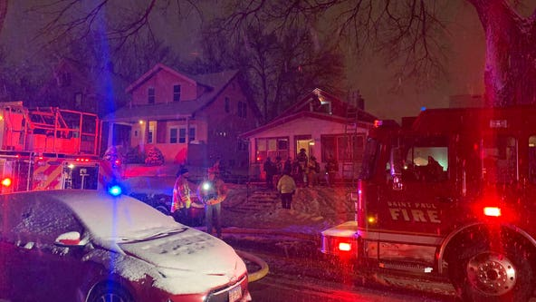 1 rescued from house fire in St. Paul