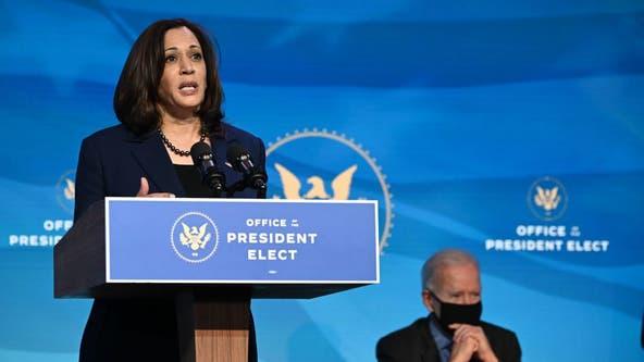 Vice President-elect Kamala Harris to resign her Senate seat Monday
