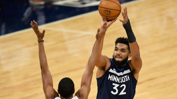 After losing family to virus, Wolves center Karl-Anthony Towns says he's tested positive for COVID-19