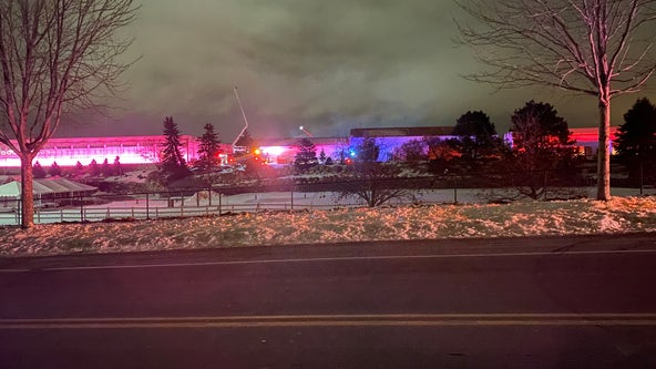 Crews fight greenhouse fire at Gertens in Inver Grove Heights