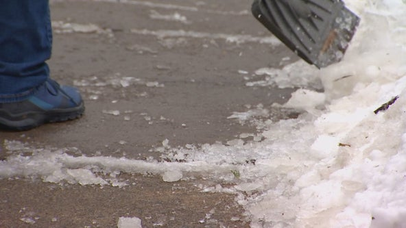 Snowfall leaves behind icy conditions in Twin Cities metro