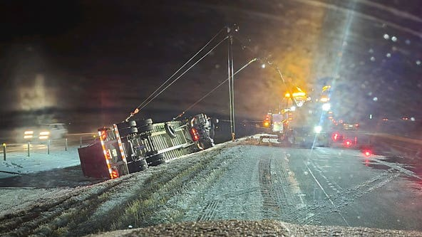 156 crashes reported during winter storm, still no travel advised in southwestern Minnesota