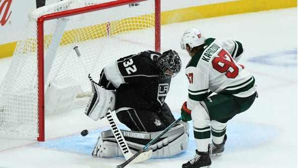 Wild continues busy stretch Tuesday night against Kings