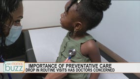 Routine doctor visits down for kids, why they're still important during the pandemic