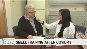 "COVID-19 patients turning to ""smell training"" to regain sense of smell"