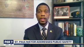 St. Paul Mayor Melvin Carter address safety concerns in city