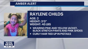 Amber Alert: Police searching for vehicle stolen in Minneapolis with 2-year-old girl inside