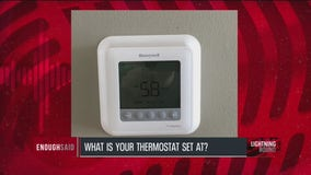 58 degrees?! How low is too low for your thermostat?