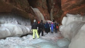 Apostle Island ice caves are no-go again this year