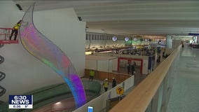 MSP Airport to unveil new 2-story sculpture called Aurora