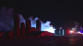 Carver County shed fire prompts 12-agency response