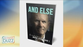 "Soulful rocker Mick Sterling out with new book ""And Else"""