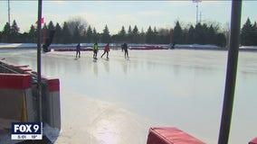 After deep freeze, Minnesotans enjoy outdoor fun during warmup