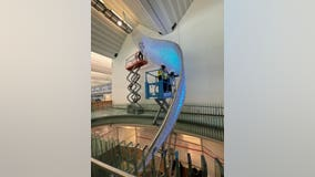 MSP Airport to unveil new 2-story sculpture called 'Aurora'