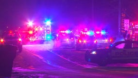 4 injured in early morning crash in Crystal, Minnesota
